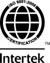 Certification Intertek ISO 9001:2008